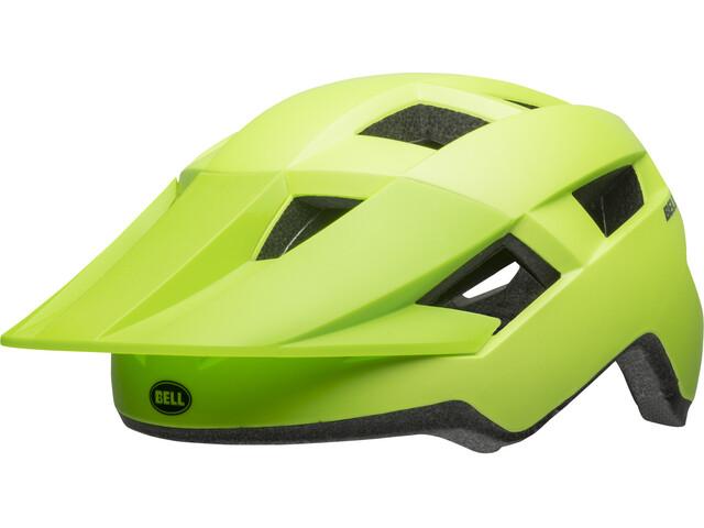 Bell Spark Helmet Juniors matte bright green/black